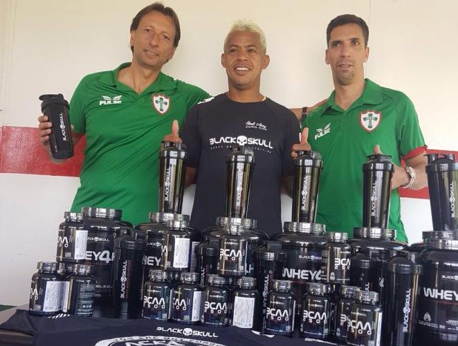 Com apoio da Gold Sports Brasil, Portuguesa tem nova parceira na suplementação
