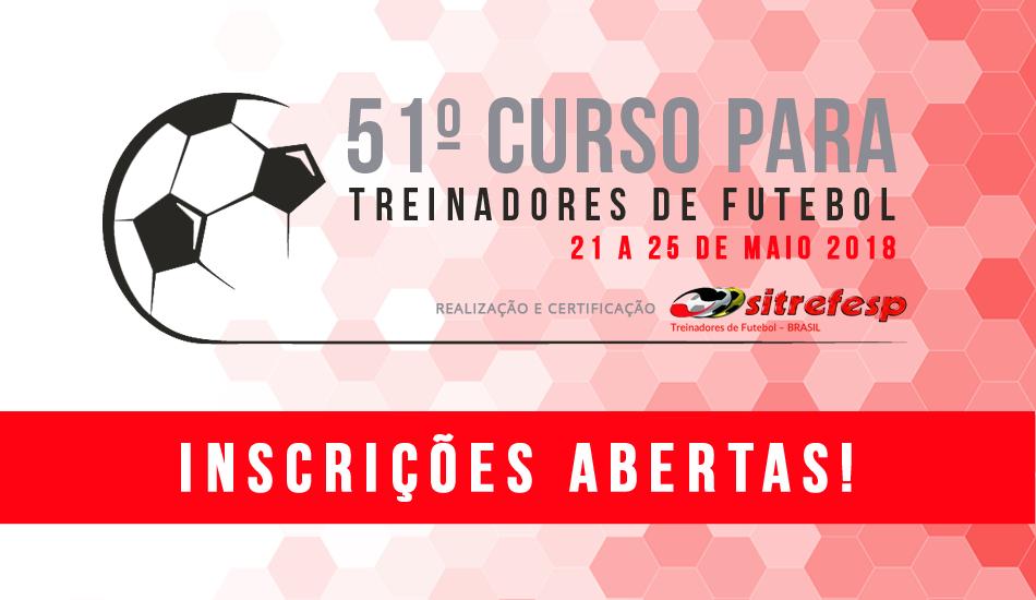 Sitrefesp realiza 51º Curso para Treinadores de Futebol